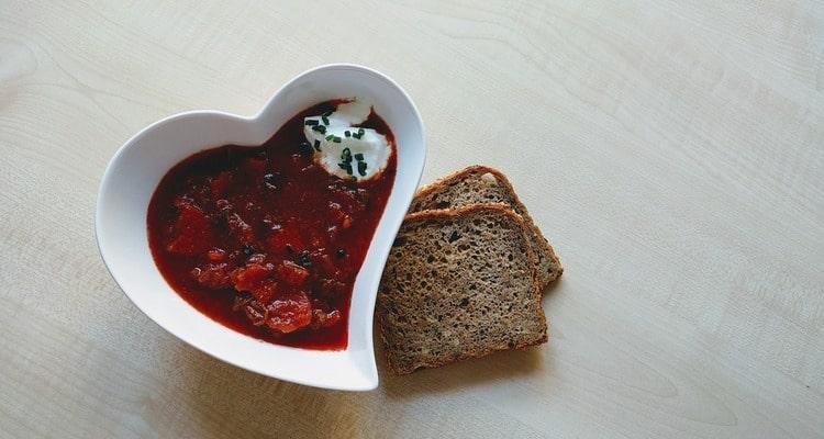 Летний свекольный суп