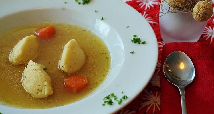 Рецепт приготовления супа Хуторок с клёцками