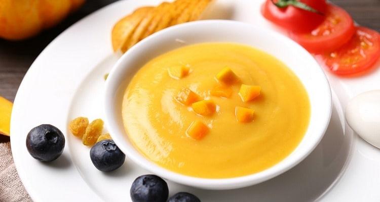 Тыквенный суп с перечной приправой