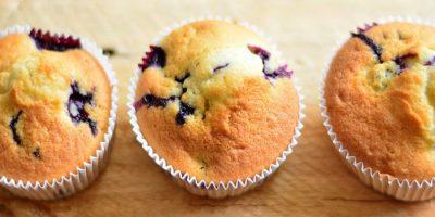 Творожные кексы с клюквой - пошаговый рецепт