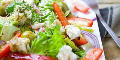 Сербский салат - пошаговый рецепт приготовления
