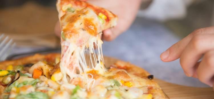 Вегетарианская пицца - можно ни в чем себе не отказывать